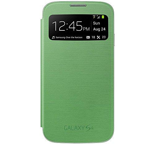 Samsung Original EF-CI950BGEGWW Flip Cover (kompatibel mit Galaxy S4) in gelb-grün