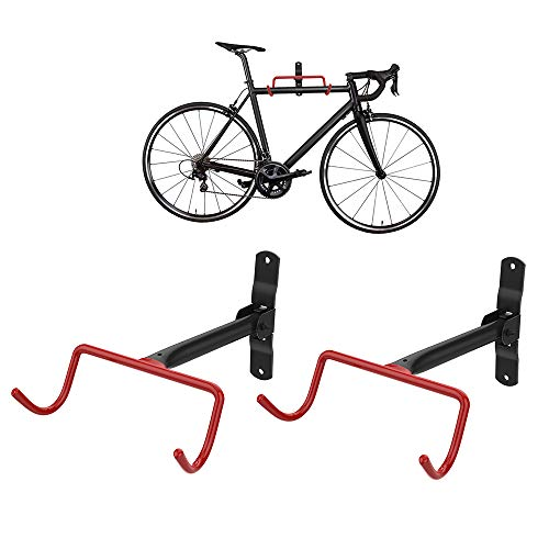 Housolution Bike Hanger Rack Heavy Duty Garage Wall Mount Vertical Bicycle Hook