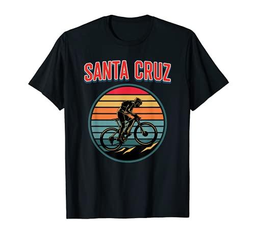 Bici Retrò Vintage Santa Cruz Bicicletta Estiva Maglietta