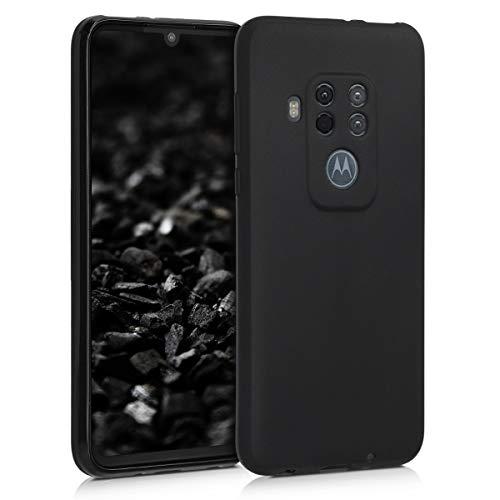 kwmobile Motorola One Zoom Hülle - Handyhülle für Motorola One Zoom - Handy Case in Schwarz matt