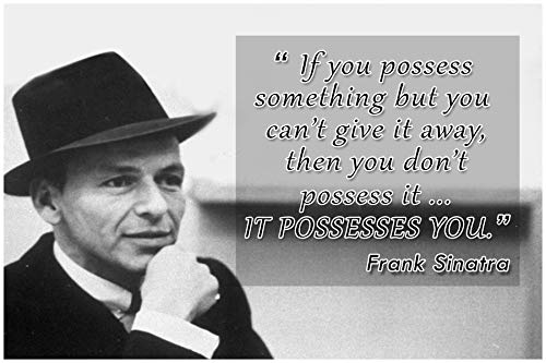 Frank Sinatra Quote Classroom Poster Rat Pack Growth Mindset Posters School Decorations Teaching Wall Art Motivational Inspirational Teacher Supplies Educational Learning Positive Teachers Quotes P024