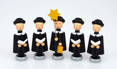 Kurrendefiguren Traditionsfiguren Kurrendesänger Kurrende Erzgebirge NEU