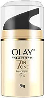 Olay Total Effects Face Cream Moisturiser Gentle SPF 15 50g
