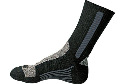 WÜRTH MODYF Arbeitssocken schwarz: Die spezielle Skinlife Faser sorgt für die langanhaltende Frische der Socken. Erhältlich in der Größe 47-50.