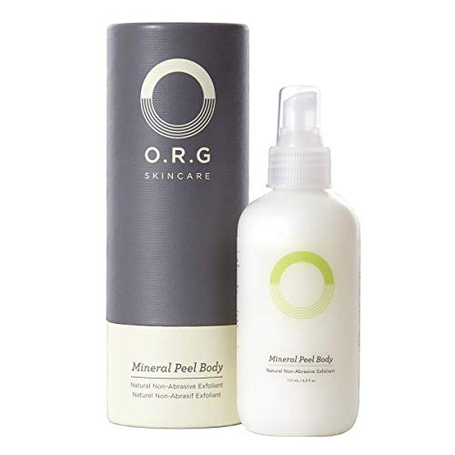 O.R.G. Skincare Mineral Peel Body, 6 oz