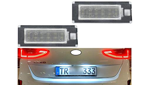 2x TOP LED SMD Kennzeichenbeleuchtung Mit E-Prüfzeichen Zulassungsfrei (034404)
