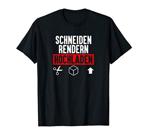 Schneiden Rendern Hochladen - Drachenlord T-Shirt