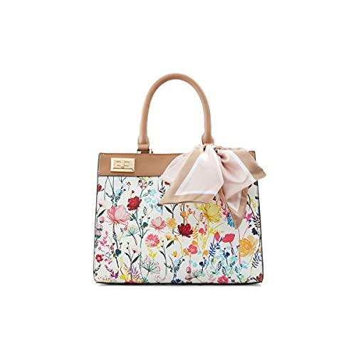ALDO womens ALDO Women s Ceranna Totes Bags, Other White, Medium US