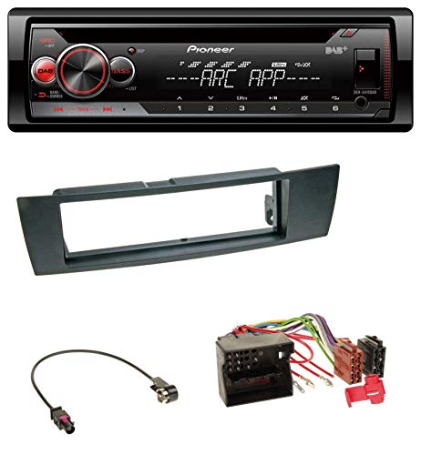 caraudio24 Pioneer DEH-4900DAB DAB USB CD MP3 AUX Autoradio für BMW 1er E87 3er E90-3 X1 E84 Z4 E89