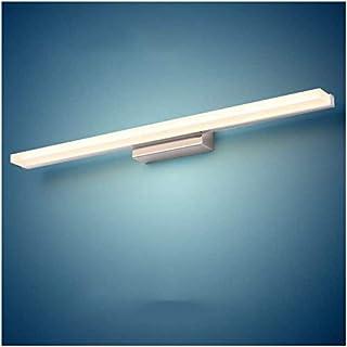 BMJ&C Led Mirror Headlight, Simple and Modern Stainless Steel Waterproof Fog Makeup Mirror Lamp Bathroom Bathroom Lamp (Color : White-16W/100CM)