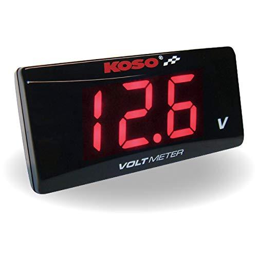 Koso Super Slim voltmètre rouge