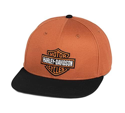 Harley-Davidson Unisex Bar & Shield Cappy Baseball-Cap Biker Kappe Mütze Motorrad Basecap Sommer für Damen und Herren