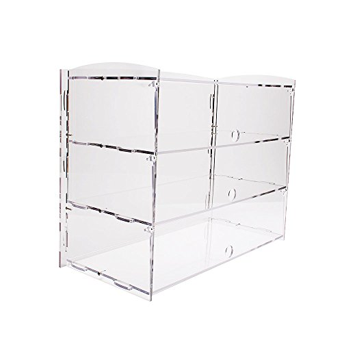 Display4top Acrylic Display Pastry Cabinet Cakes Donuts Cupcakes Pastries (3 Tier)