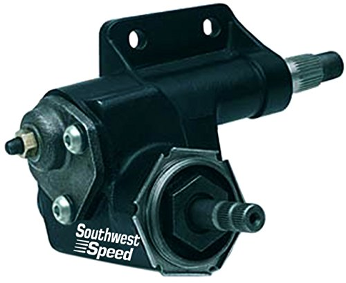 SOUTHWEST SPEED MANUAL STEERING GEAR BOX,16:1 RATIO,COMPATIBLE WITH 66-82 CHRYS. DODGE PLYMOUTH MOPAR,CHALLENGER CHARGER CORONET DART NEW YORKER NEWPORT BARRACUDA CUDA DUSTER FURY GTX ROADRUNNER