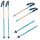 K2 Ski Unisex - Adultos Freeride 18 Bastones de esquí, Bastones de esquí., 10E3401, Azul, 110