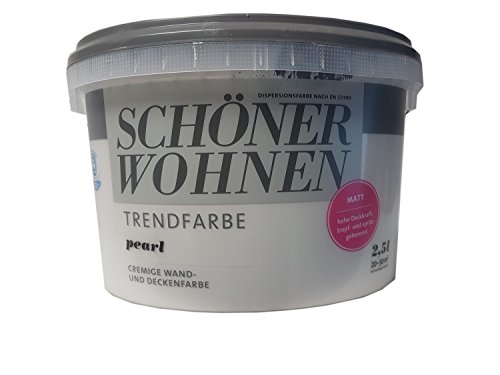 SCHNER WOHNEN KOLLEKTION,Trendfarbe »pearl«,Pearl,2.5 l