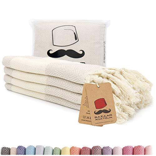 ivory dish towel - 3