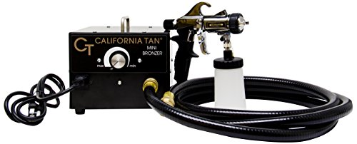 California Tan Mini Bronzer Tanning Spray Unit, Sunless Spray Tan Machine