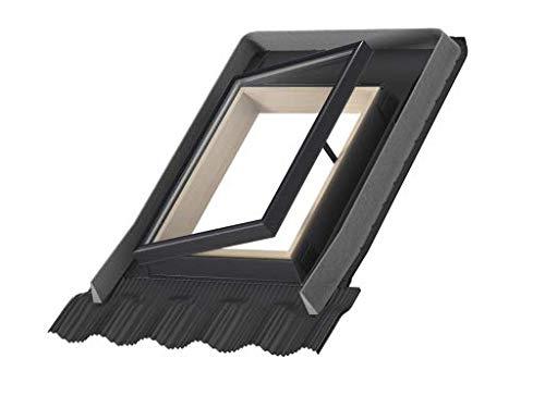 VELUX Dachausstiegsfenster VLT 1000 inkl. Universal Eindeckrahmen (45 x 55-025)