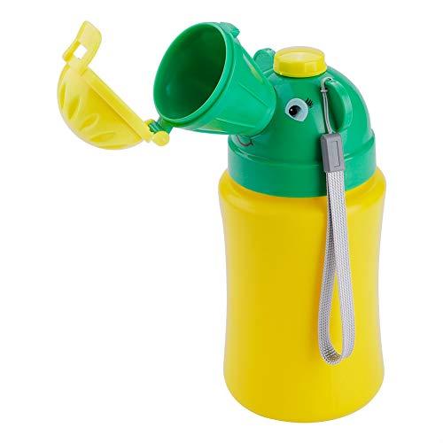 Tragbares Notfall Urinal Toilettentöpfchen für Baby 500 ml Pipi Flasche für Baby Kind Kinder Auto Reise Camping(für Jungen)