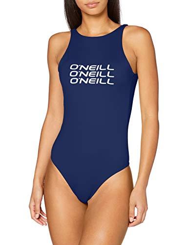 ONeill Damski kostium kąpielowy z logo jednoczęściowy Borówka amerykańska 44