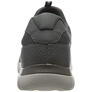 Skechers Mens Summits Athletic Shoes 10 Charcoal Grey