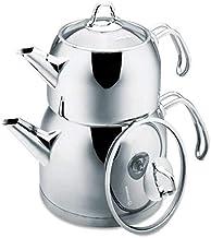 Korkmaz C-MX-A105 Stainless Steel Provita Maxi Teapot 2 Piece Set