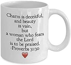 Christian Gift Mug - Bible Verse -