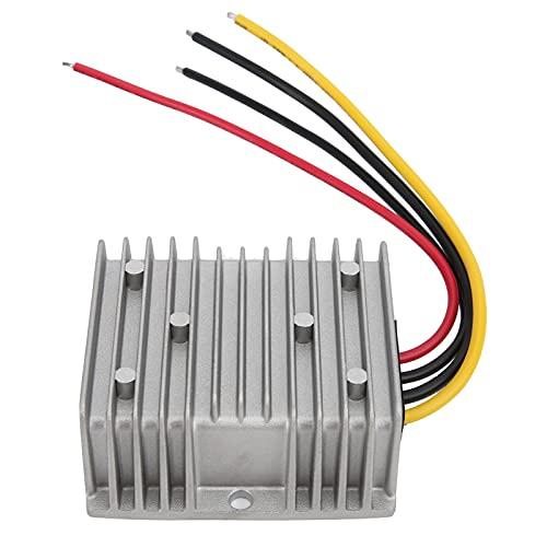 Les-Theresa Convertidor reductor de voltaje IP68 48V/36V a 12V DC Transformador de módulo para coche THJ4812C240Z 20A