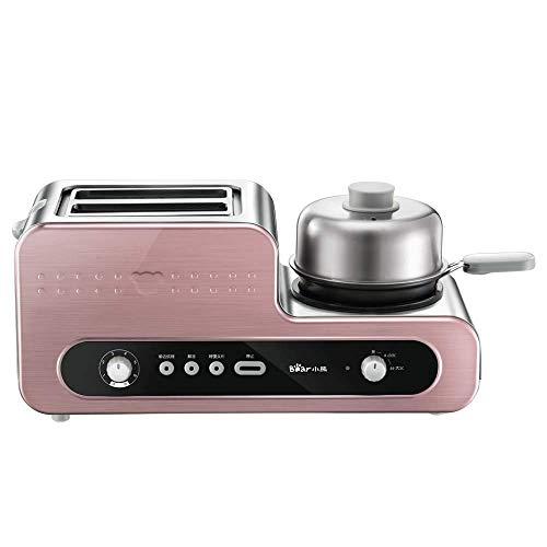 Bread maker Grille-Pain, Machine à Petit déjeuner Multifonction Maison, Toast Toast, Driver Spit, 1230W, réglage 6 Vitesses