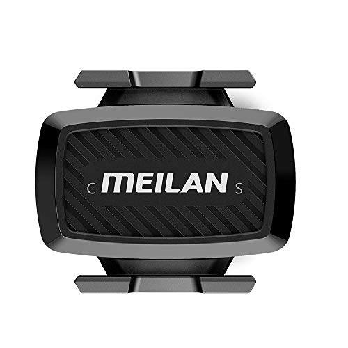 MEILAN C1 Wireless Bike Speed/Cadence Sensor, Bluetooth BLE4.0/ANT+ for iPhone, Android, Bike Computer and Apps, Waterproof