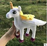 Stuffed.Animals Bolafynia Children Plush Stuffed Toy Mia and Me Unicorn Horse Doll Baby Kids Toy for Christmas Birthday Gift-Like Pic 25cm