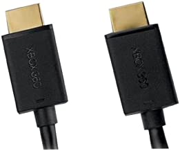 Microsoft Xbox 360 Black HDMI Cable (Retail Packaging)