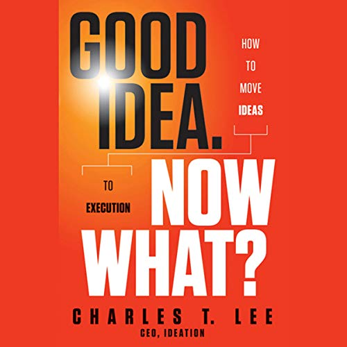 Good Idea. Now What? audiobook cover art