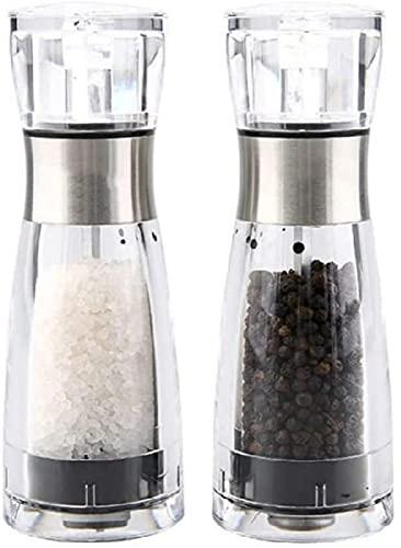 CHUNYU Salz- und Pfeffermühle Manuelle...