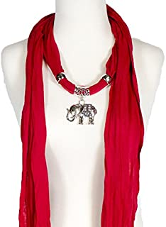 Best scarf necklace with charms Reviews