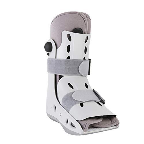 DYWOZDP AirSelect Gehstütze/Wandern Stiefel, Aircast AirSelect Short Walker Stiefel für Fuß- / Knöchelverletzungen - Robuste Shell Shock Absorbiert,L