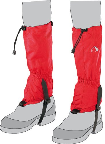 Tatonka Kinder Gamaschen Gaiter 420HD Junior, Red, one size