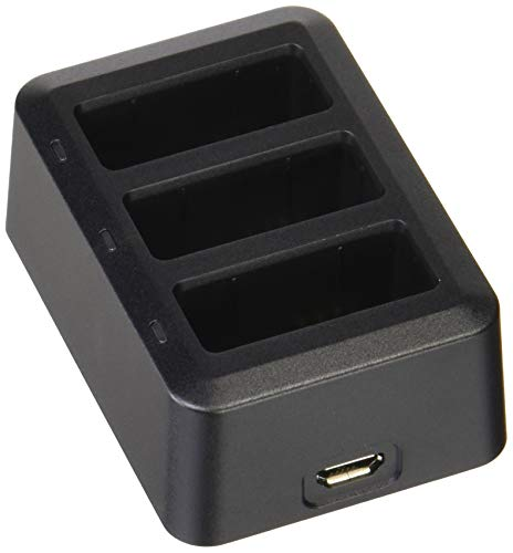 DJI Tello Part 9 - Caricabatterie Multiplo Compatibile con Batterie Drone DJI Tello Drive, Hub di Ricarica, Contiene fino a 3 Batterie Contemporaneamente, Alimentatore non Incluso