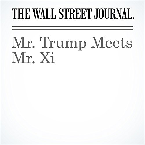 Mr. Trump Meets Mr. Xi copertina