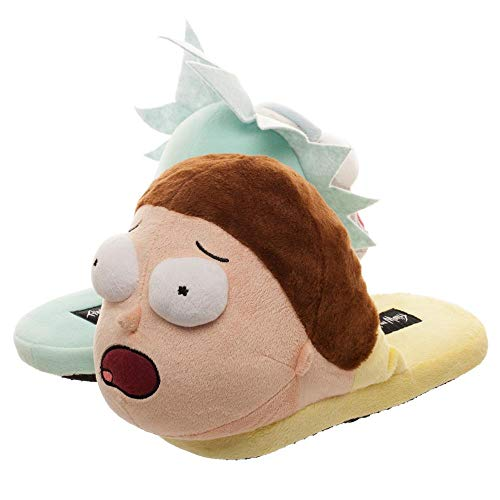 Bioworld 3D Scuff Slippers Rick and Morty Besties Large