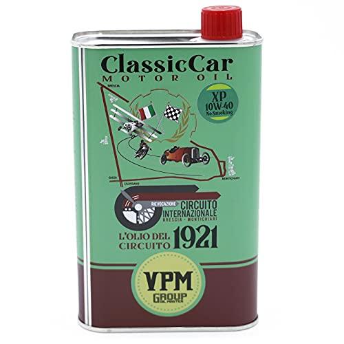 Aceite de motor de base sintética con emisión de humos reducida para coches clásicos y de colección - 1 Litro - XP 10W-40 No Fumar