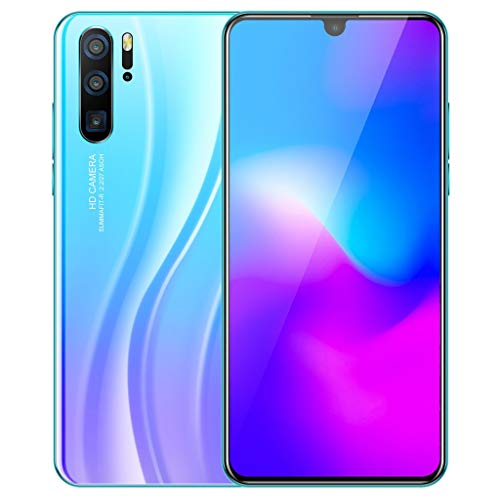 SALE & CLEARANCE 2019 New Unlocked Cell Phone, 6.3 inch Ultrathin Dual SIM Unlocked Smartphone, Android 9.1 1G+16G GPS 3G Touch Screen Smartphone Mobile Phone (Sky Blue)