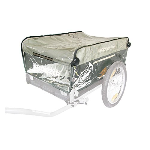 Croozer Unisex– Erwachsene Regenverdeck-3092015500 Regenverdeck, Transparent, One Size