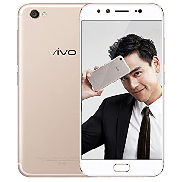 """Vivo X9 Snapdragon 625 Octa Core 4GB RAM 64GB ROM 5.5"""" FHD 4G LTE Global Network 20MP Dual Front Cam Flash Charge (Gold)"""