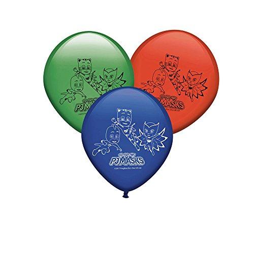 PJ Masks- Globos para decoración de fiestas (Verbetena 016001323)
