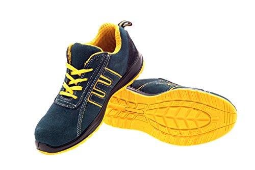 U Arbeitsschuhe SICHERHEITSKLASSE S1 (KG22122) (43) - Profi,Schuhe, Arbeitsschuhe, BERUFSCHUHE, ARBEITSSNEAKER,