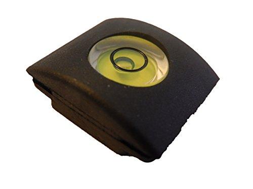 vhbw 2in1 Blitzschuh Abdeckung mit Wasserwaage passend für Kamera Panasonic Lumix DMC-G6H, DMC-G6K, DMC-G6W, DMC-G6X