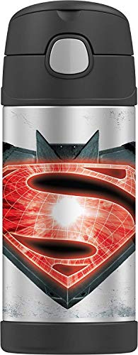Thermos Funtainer 12 Ounce Bottle, Batman V Superman