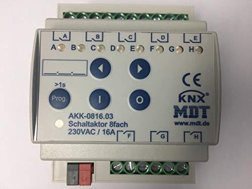 Beg KNX Schaltaktor Switch KNX sa-8C-230V